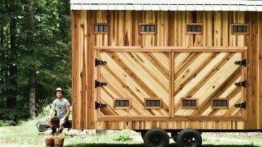 Un séchoir solaire pour protéger le bois des insectes et de l'humidité