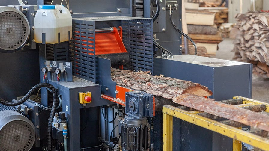 HR250 twin blade resaw generates an extra board from every offcut