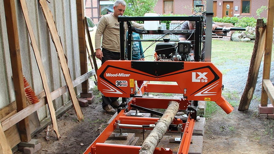 Kevin Raddatz thinks that the sawmill opens up completely new possibilities