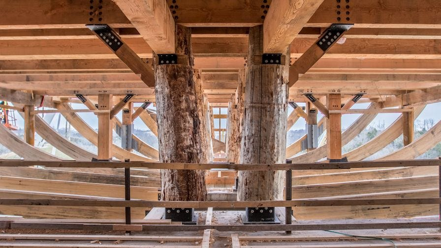 Ark Encounter Timbers